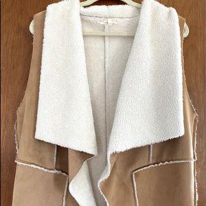 Very soft Sherpa lined vest